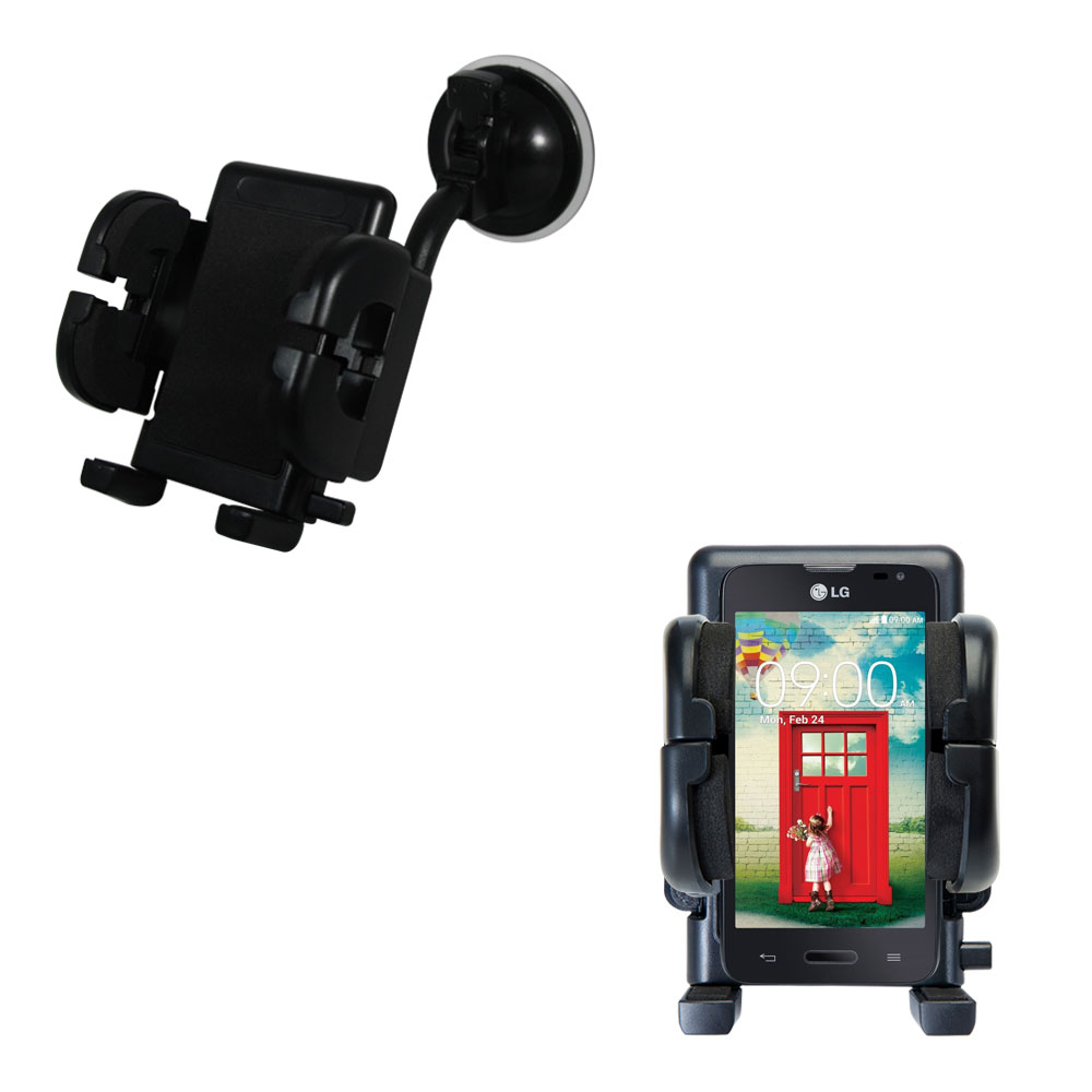 Windshield Holder compatible with the LG Optimus L70