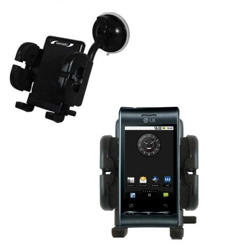 Windshield Holder compatible with the LG Optimus S