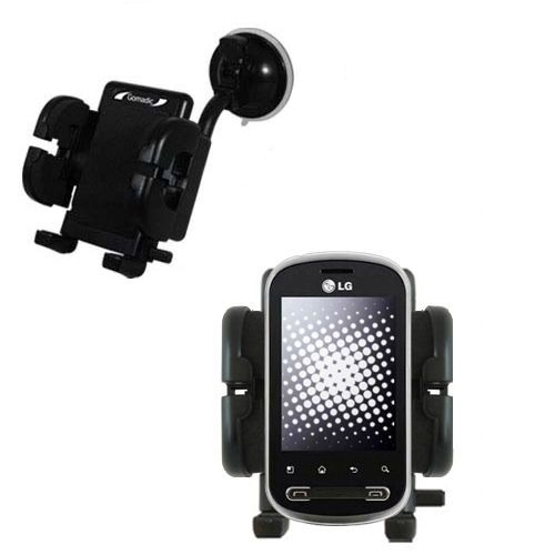 Windshield Holder compatible with the LG Pecan