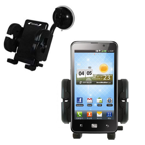 Windshield Holder compatible with the LG Revolution 2
