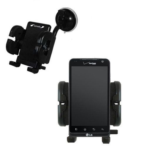 Windshield Holder compatible with the LG Revolution
