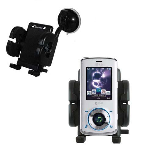 Windshield Holder compatible with the LG Rhythm