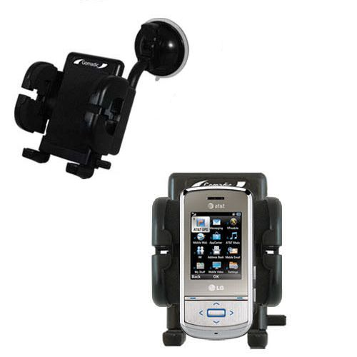 Windshield Holder compatible with the LG Shine II GD710