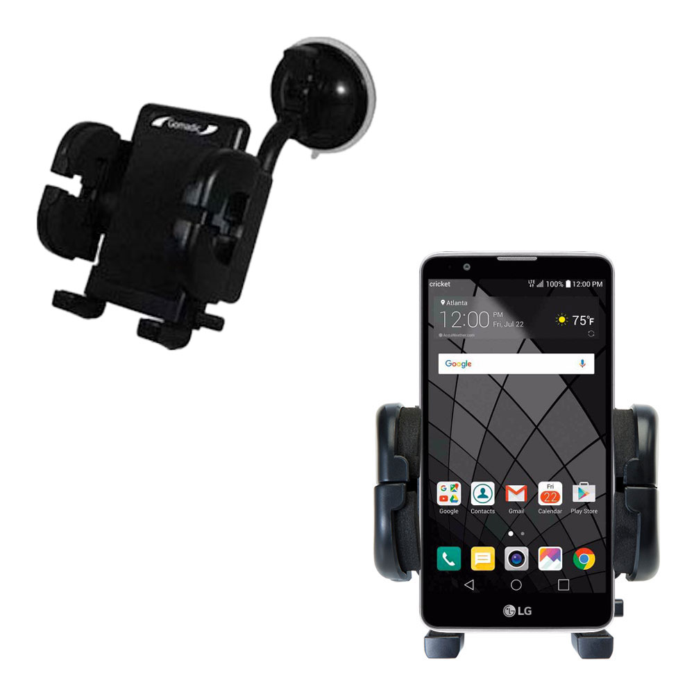 Windshield Holder compatible with the LG Stylo 2 / 2V