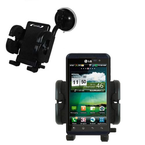Windshield Holder compatible with the LG Thrill 4G