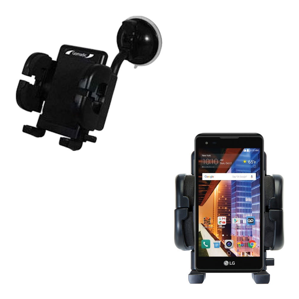 Windshield Holder compatible with the LG Tribute HD
