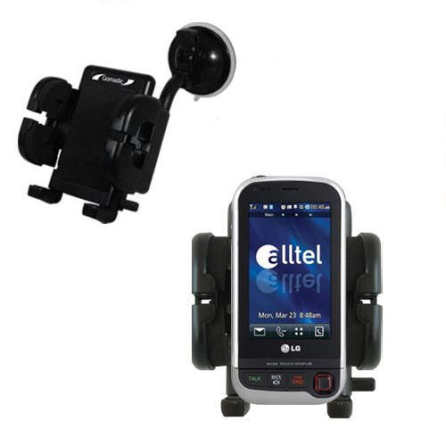Windshield Holder compatible with the LG Tritan