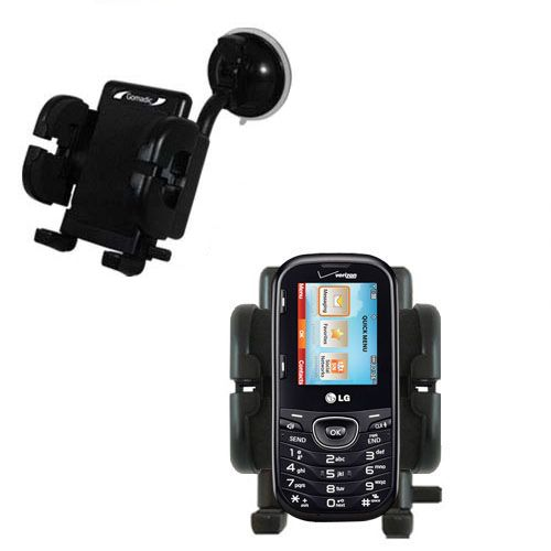 Windshield Holder compatible with the LG UN251