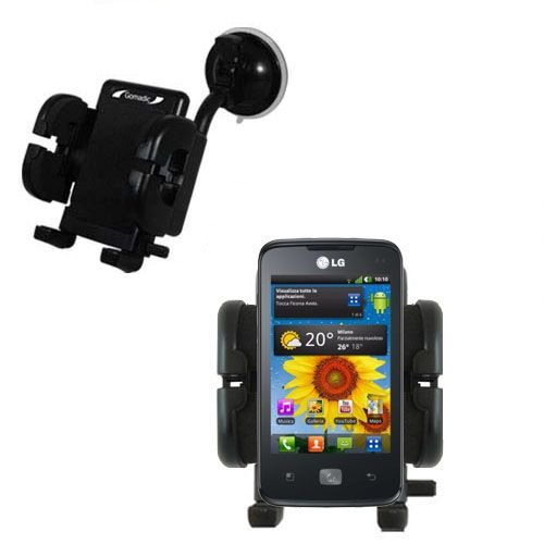 Windshield Holder compatible with the LG Univa