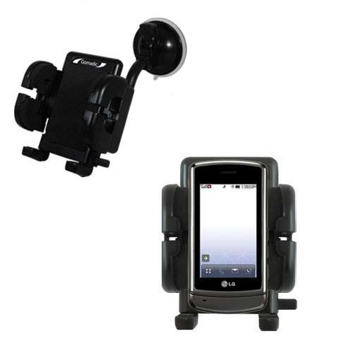Windshield Holder compatible with the LG UX830 UX840