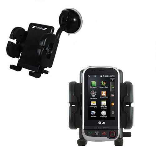Windshield Holder compatible with the LG UX840