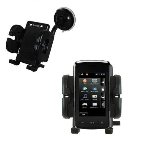 Windshield Holder compatible with the LG Vu