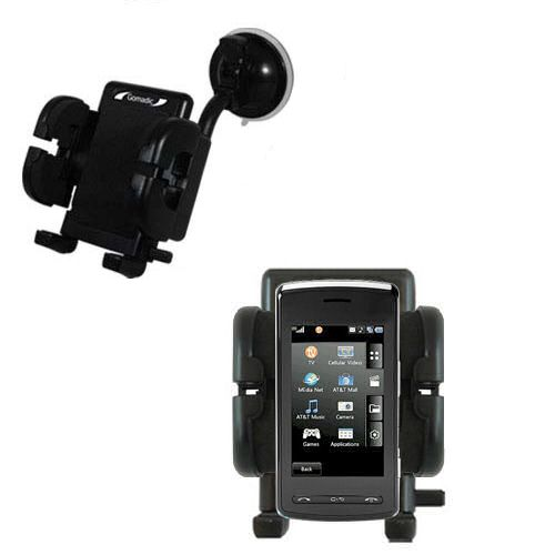 Windshield Holder compatible with the LG Vu Plus