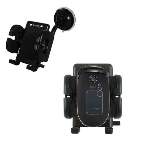 Windshield Holder compatible with the LG VX5400