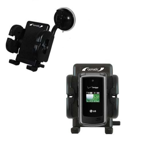 Windshield Holder compatible with the LG VX5500