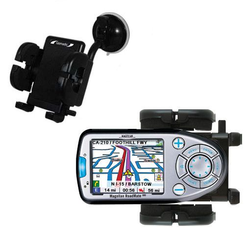 Windshield Holder compatible with the Magellan Roadmate 800