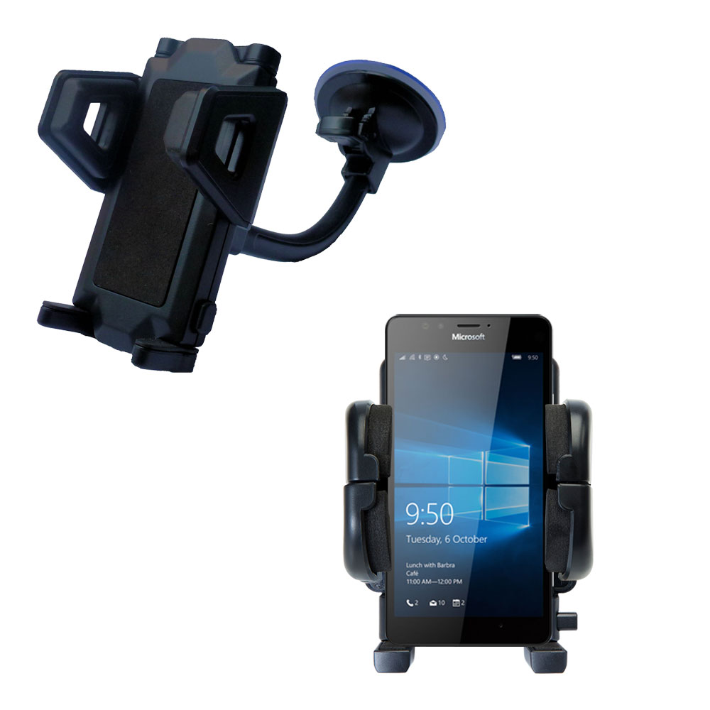 Windshield Holder compatible with the Microsoft Lumia 950