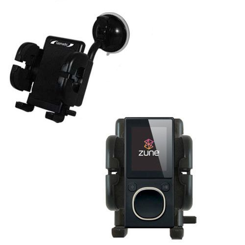 Windshield Holder compatible with the Microsoft Zune 8 / 12