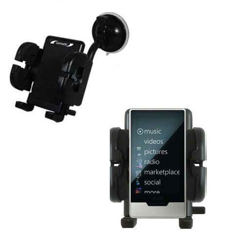 Windshield Holder compatible with the Microsoft Zune HD
