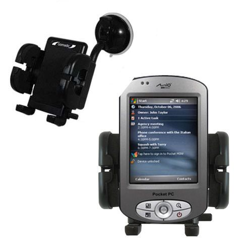 Windshield Holder compatible with the Mio P550