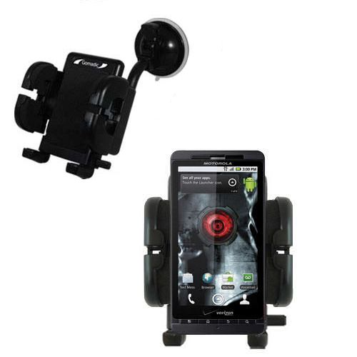 Windshield Holder compatible with the Motorola Droid X