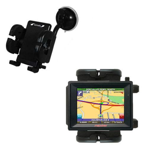 Windshield Holder compatible with the Nextar SNAP3