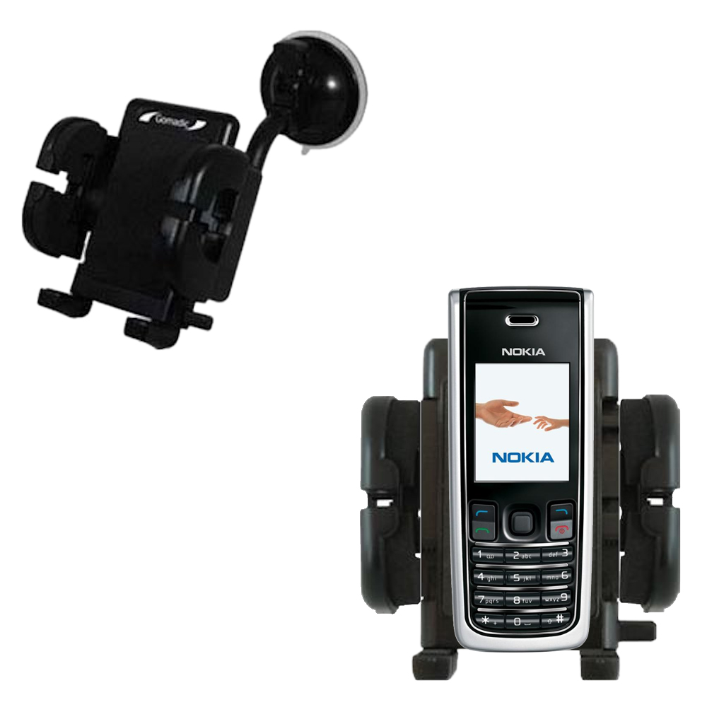 Windshield Holder compatible with the Nokia 2865i 3155i