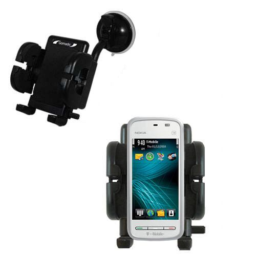 Windshield Holder compatible with the Nokia 5230 Nuron