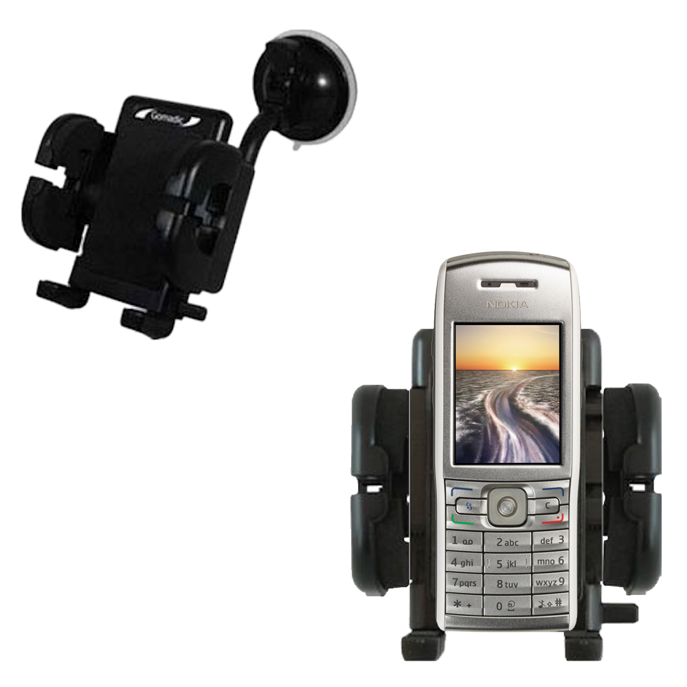 Windshield Holder compatible with the Nokia E50