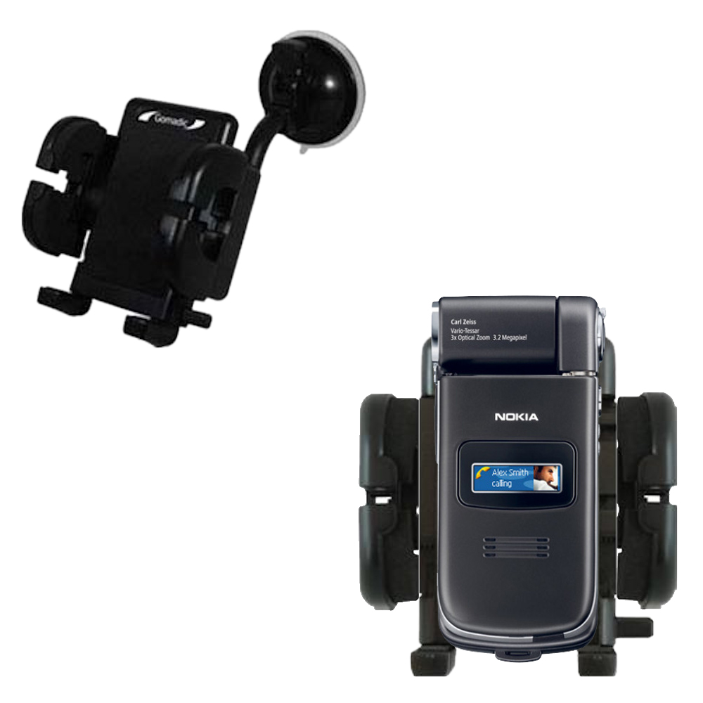 Windshield Holder compatible with the Nokia N90 N93 N95