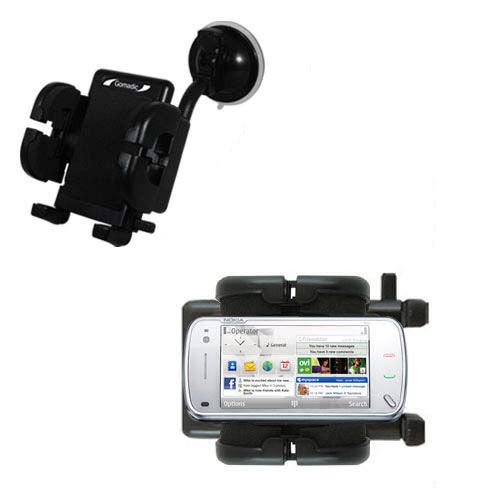 Windshield Holder compatible with the Nokia N97 Mini