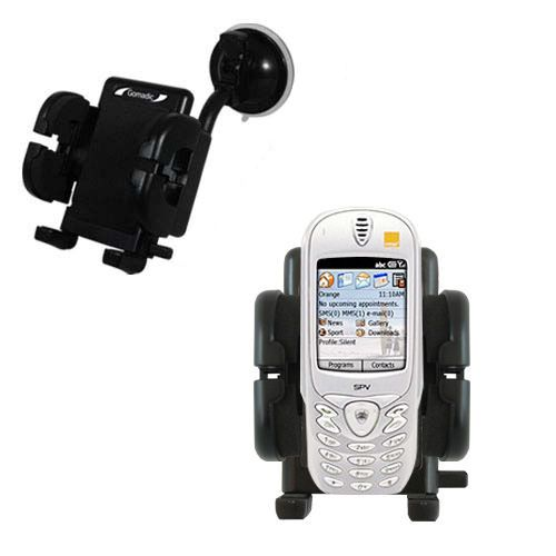 Windshield Holder compatible with the Orange SPV Smartphone