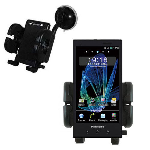 Windshield Holder compatible with the Panasonic Eluga / dL1