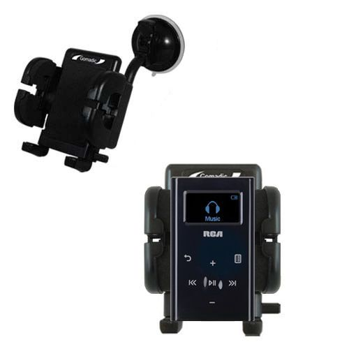 Windshield Holder compatible with the RCA M2204 Lyra Digital Audio Player