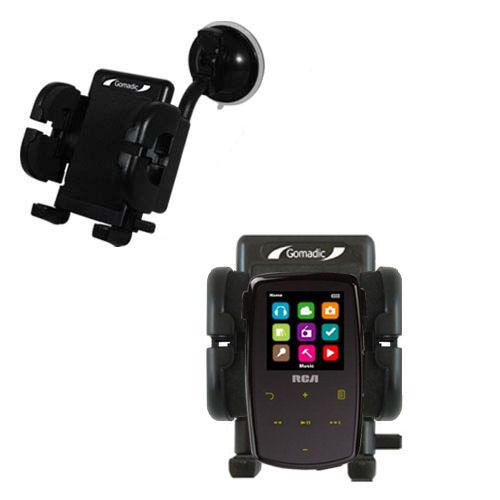 Windshield Holder compatible with the RCA M3904 Lyra Digital Media Player