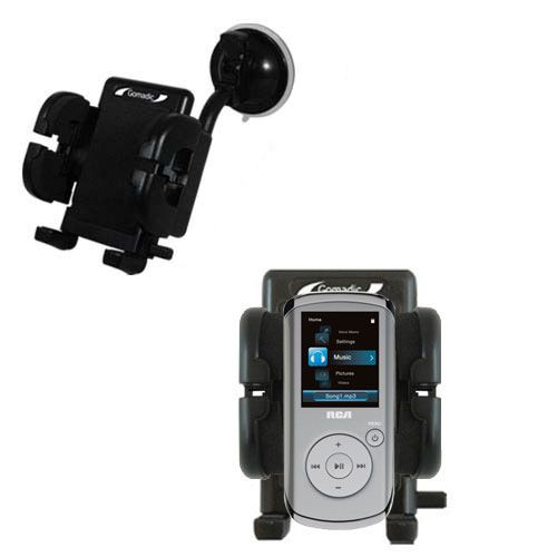 Windshield Holder compatible with the RCA M4104 M4108 Digital Music Player