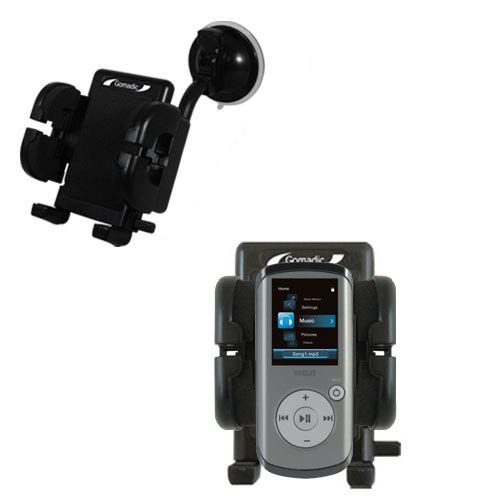 Windshield Holder compatible with the RCA M4202 OPAL Digital Media Player