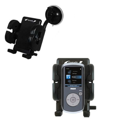 Windshield Holder compatible with the RCA M4208 OPAL Digital Media Player