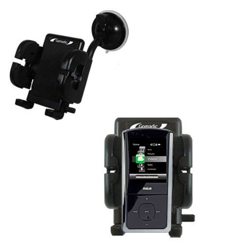Windshield Holder compatible with the RCA M4302 Digital Music Player