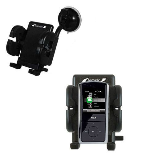 Windshield Holder compatible with the RCA M4308 Digital Music Player