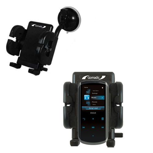 Windshield Holder compatible with the RCA M4508 Lyra Digital Media Player