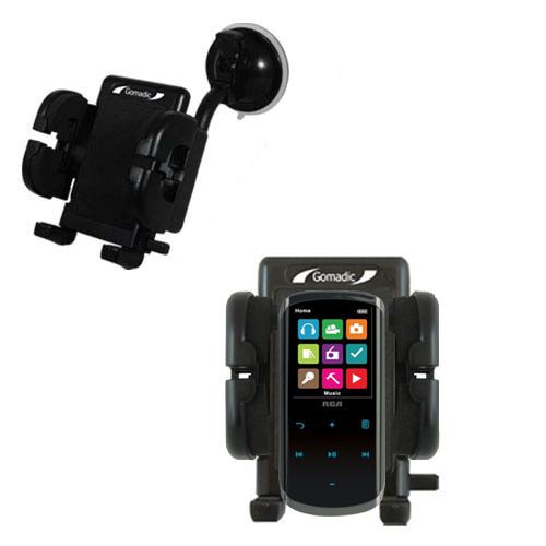 Windshield Holder compatible with the RCA M4608 Lyra Digital Media Player