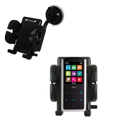 Windshield Holder compatible with the RCA M4808 Lyra Digital Media Player