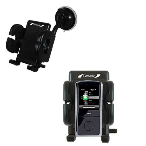 Windshield Holder compatible with the RCA MC4302 Digital Music Player