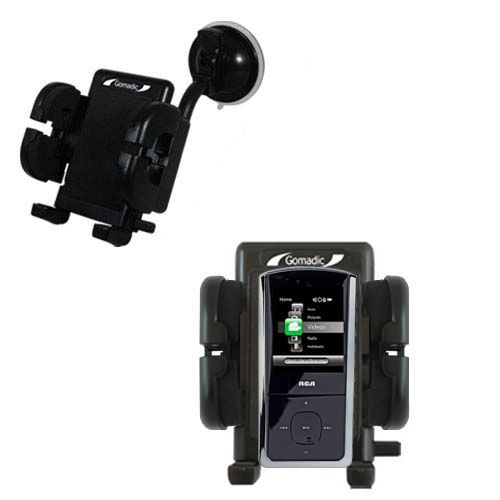 Windshield Holder compatible with the RCA MC4308 Digital Music Player
