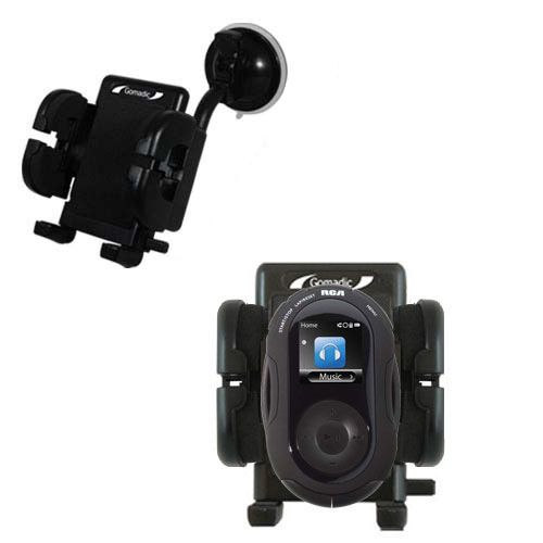 Windshield Holder compatible with the RCA S2204 JET Digital Audio Player