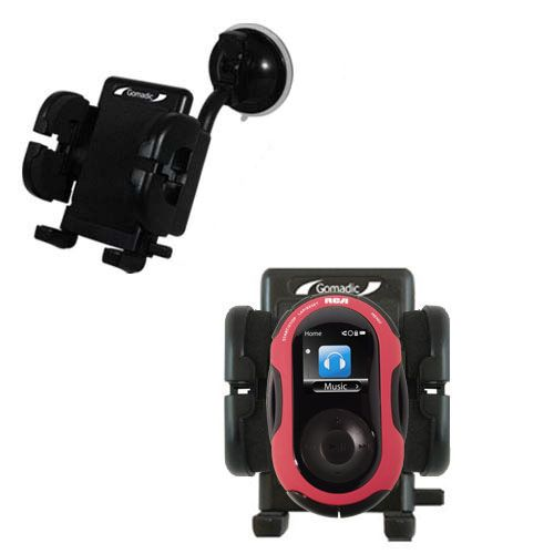 Windshield Holder compatible with the RCA SC2202 JET Digital Audio Player