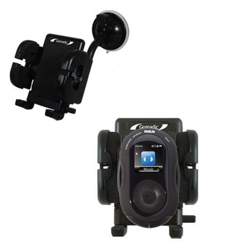 Windshield Holder compatible with the RCA SC2204 JET Digital Audio Player