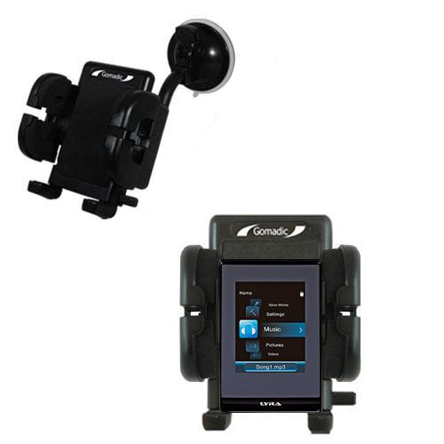 Windshield Holder compatible with the RCA SL5016 LYRA Slider Media Player