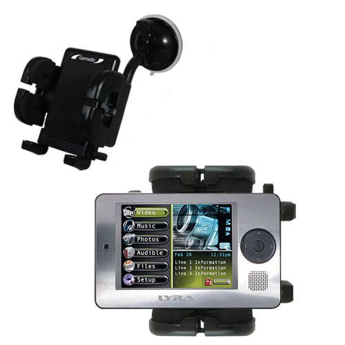 Windshield Holder compatible with the RCA X3000 LYRA Media Player